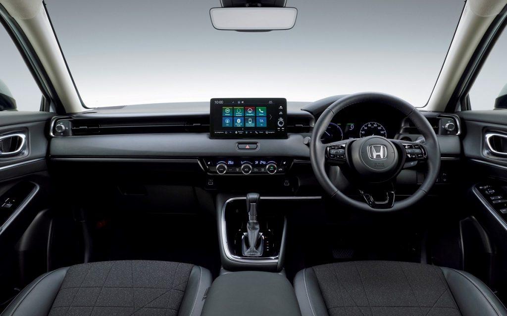 Interior del Honda HR-V