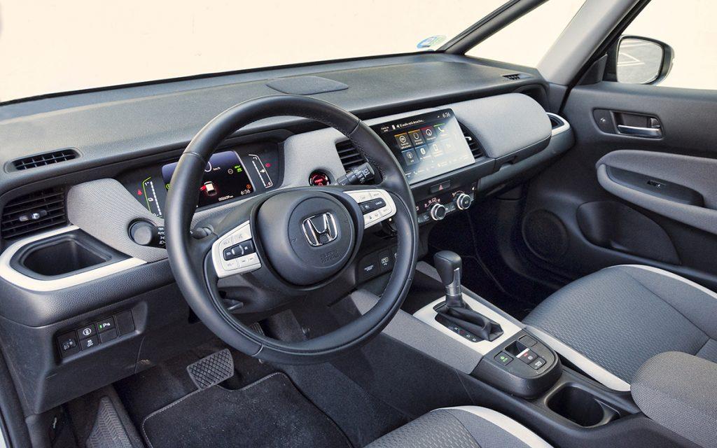Interior del Honda Jazz Crosstar