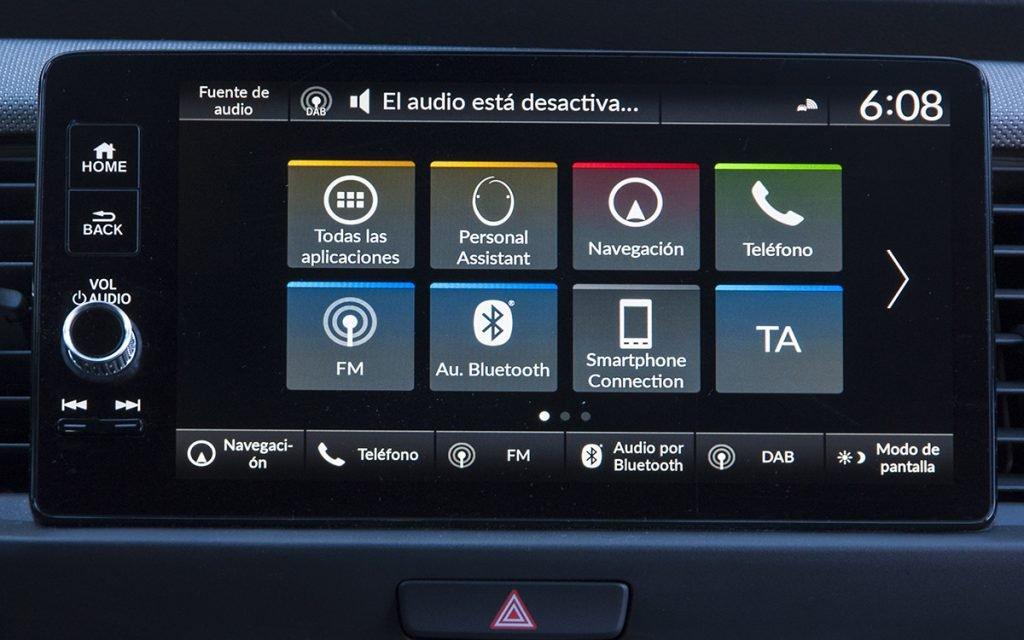 Sistema multimedia del Honda Jazz Crosstar