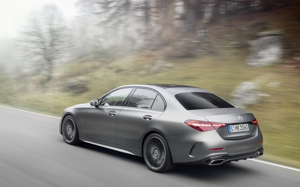 Imagen posterior del Mercedes-Benz Clase C