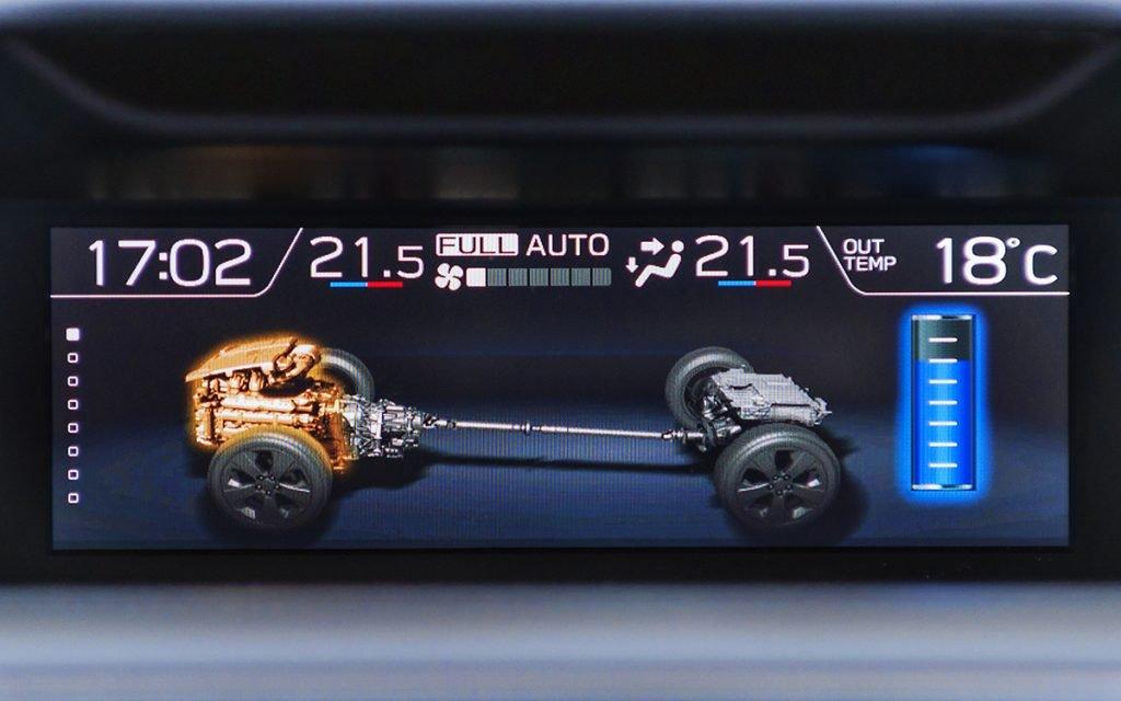 Diagrama motor del Subaru Forester Hybrid
