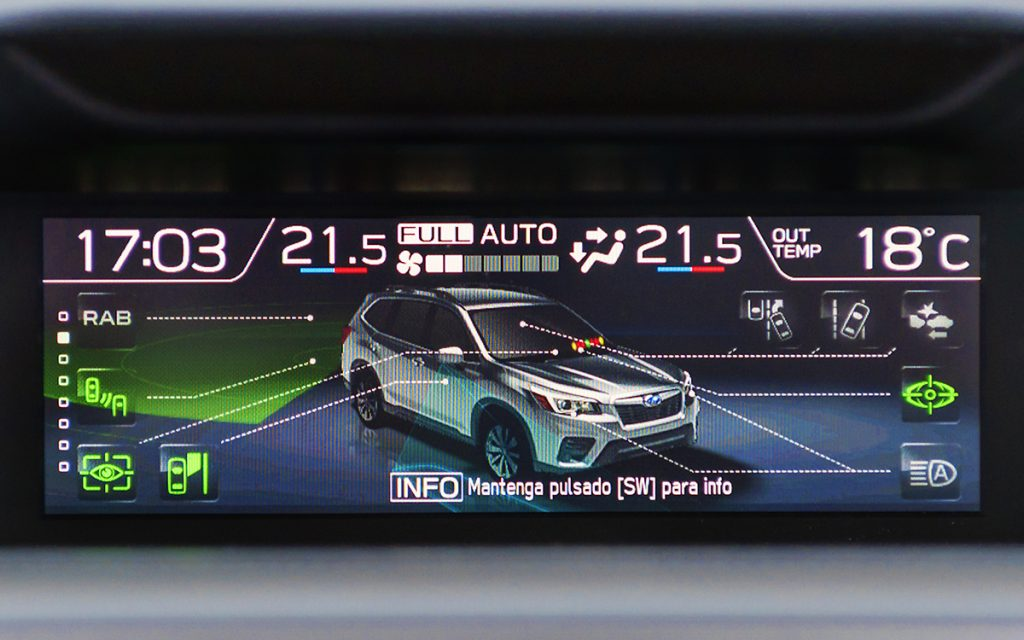 ADAS del Subaru Forester Hybrid