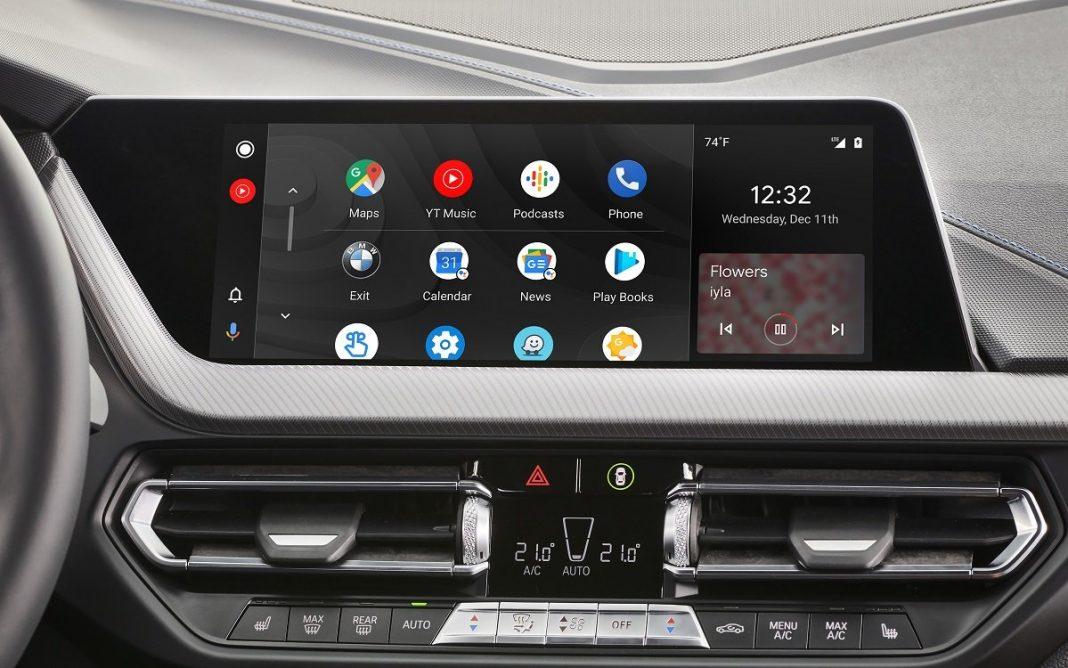 BMW Serie 1 interior detalle Android Auto