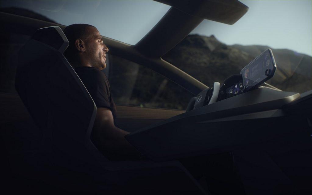 Interior del Lexus LF-Z Electrified