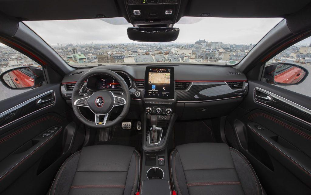 Imagen interior del Renault Arkana