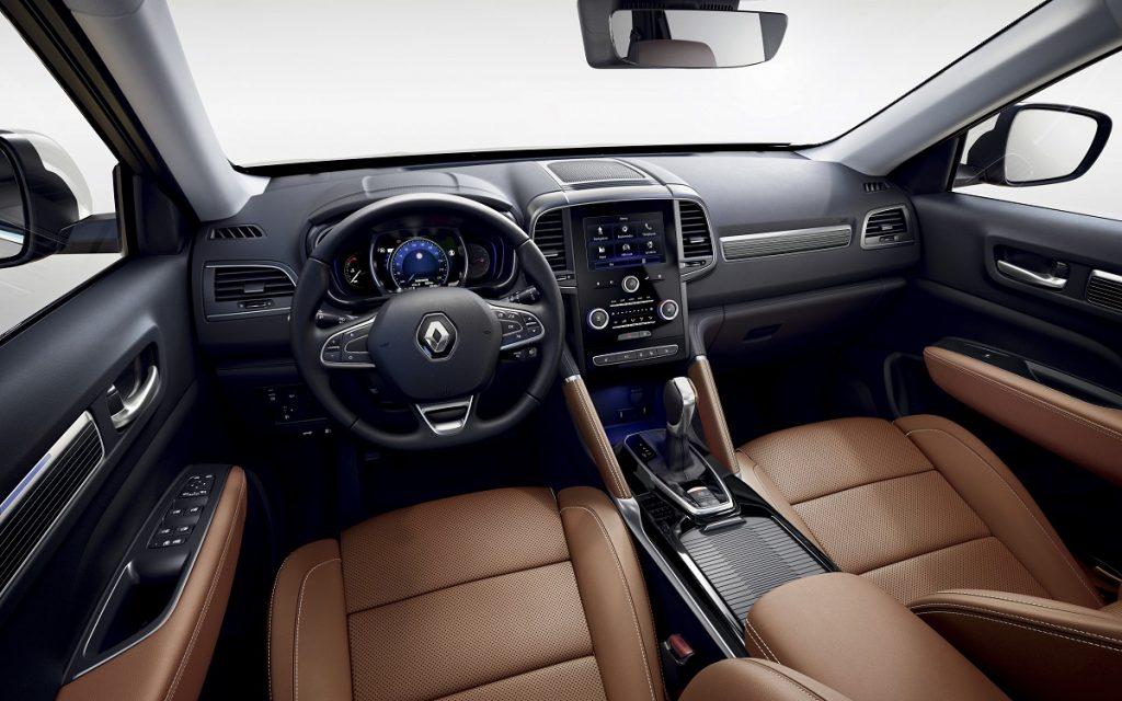 Imagen interior del Renault Koleos