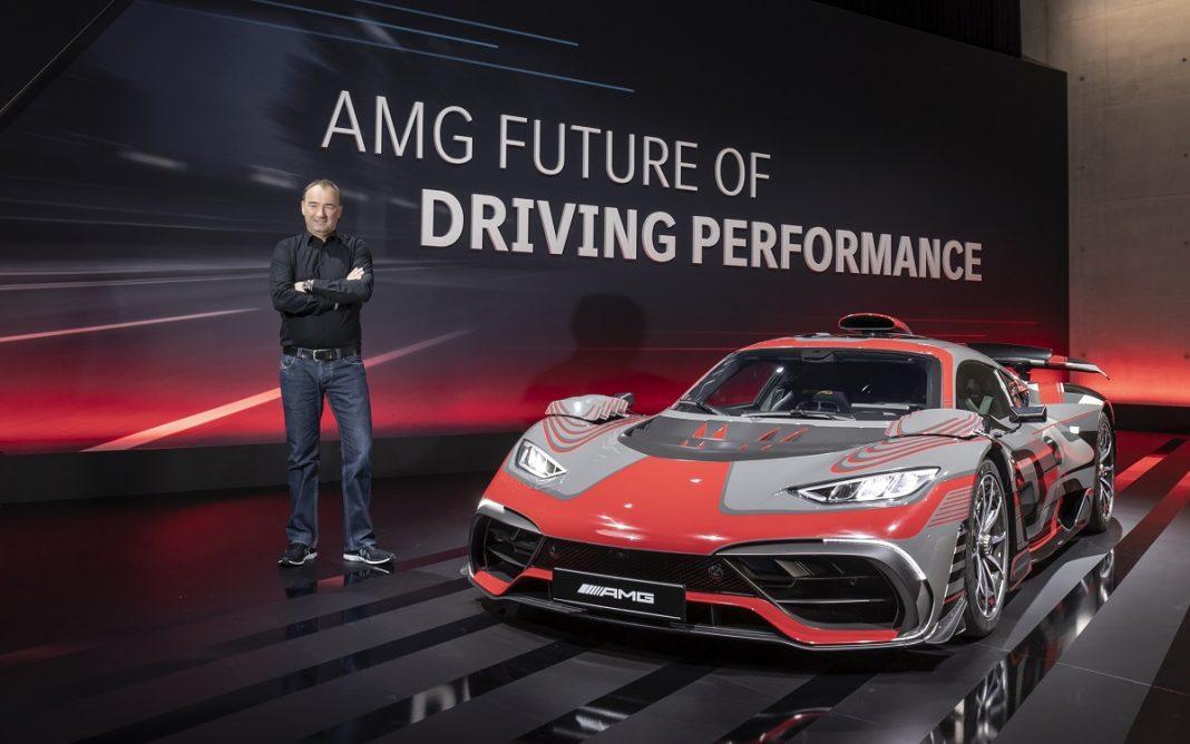 Imagen del prototipo AMG Project One