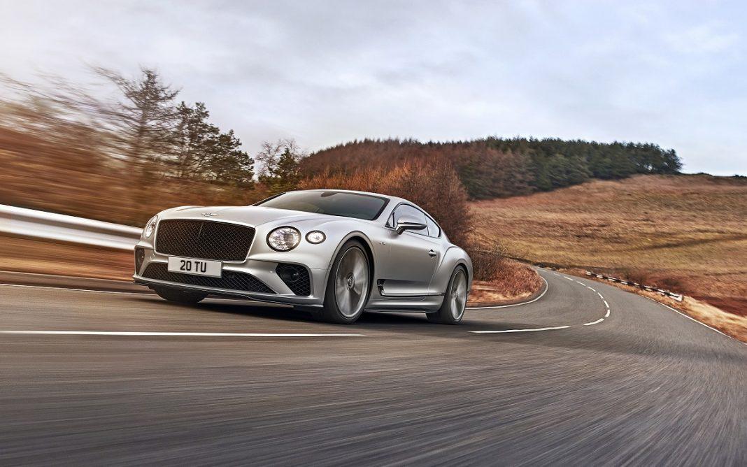 Imagen frontal del Bentley Continental GT Speed
