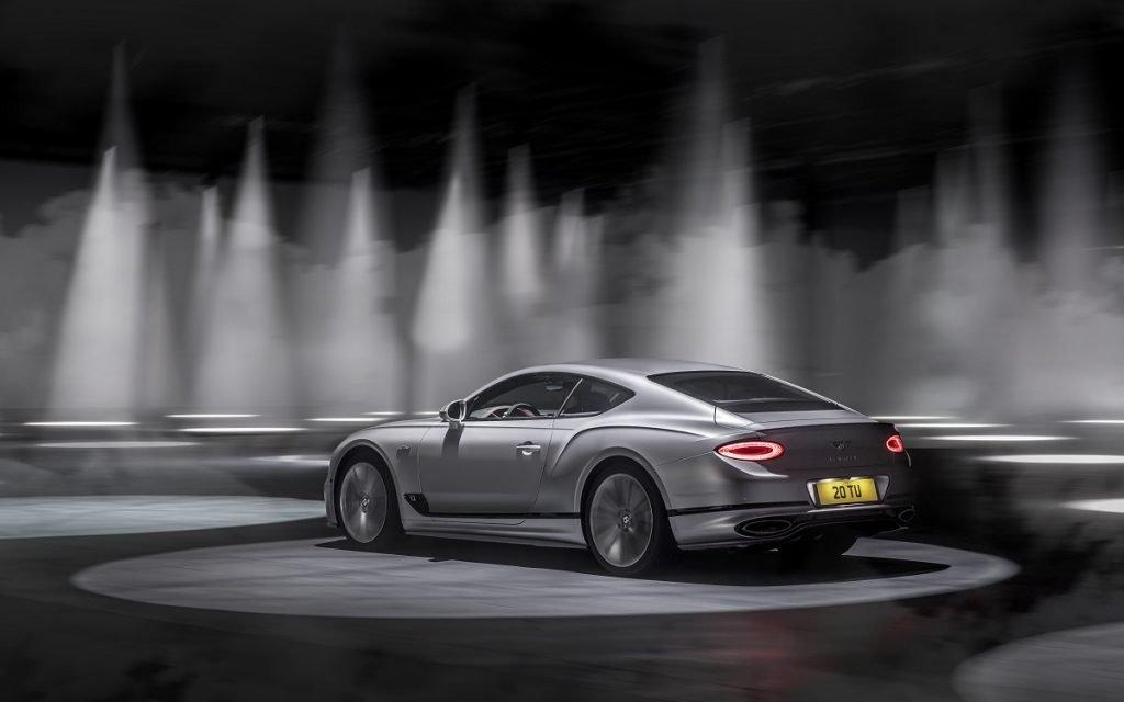 Imagen posterior del Bentley Continental GT Speed