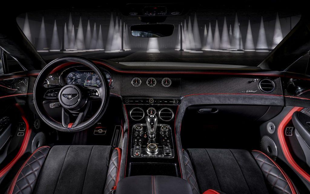 Interior del Bentley Continental GT Speed