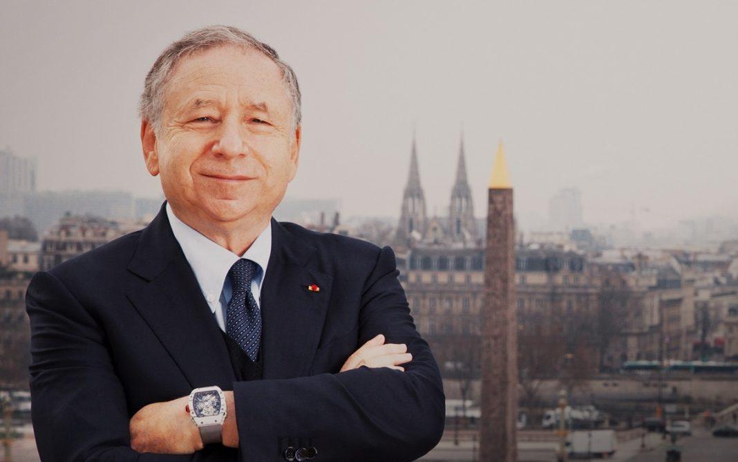 Imagen de Jean Todt, presidente de la FIA