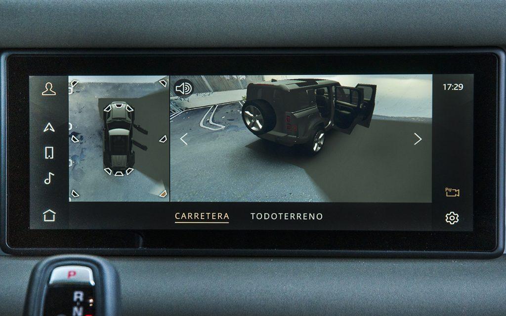 Vista 360º del Land Rover Defender