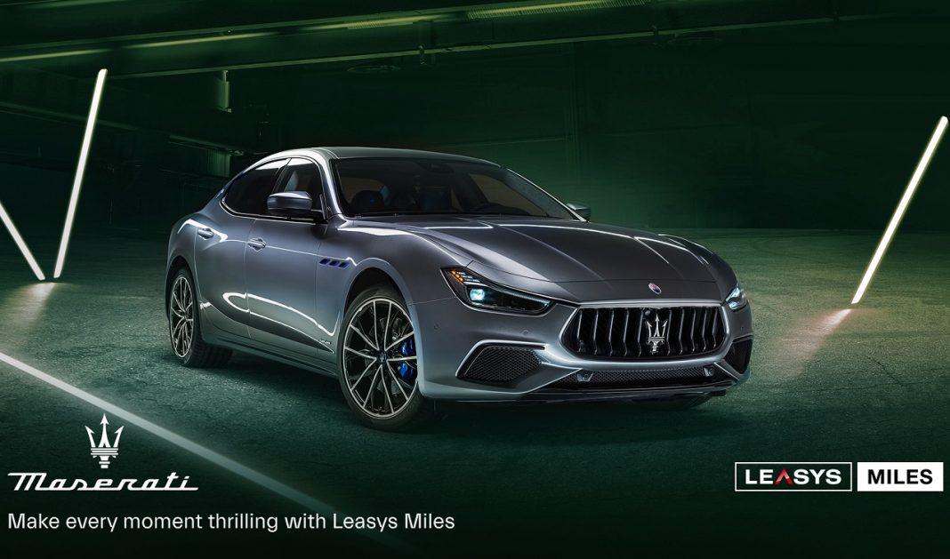 Promoción de Leasys Miles con Maserati