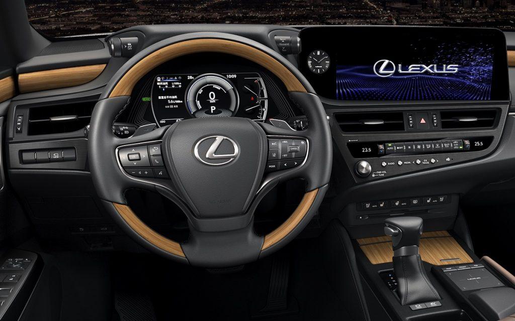 Interior del Lexus ES