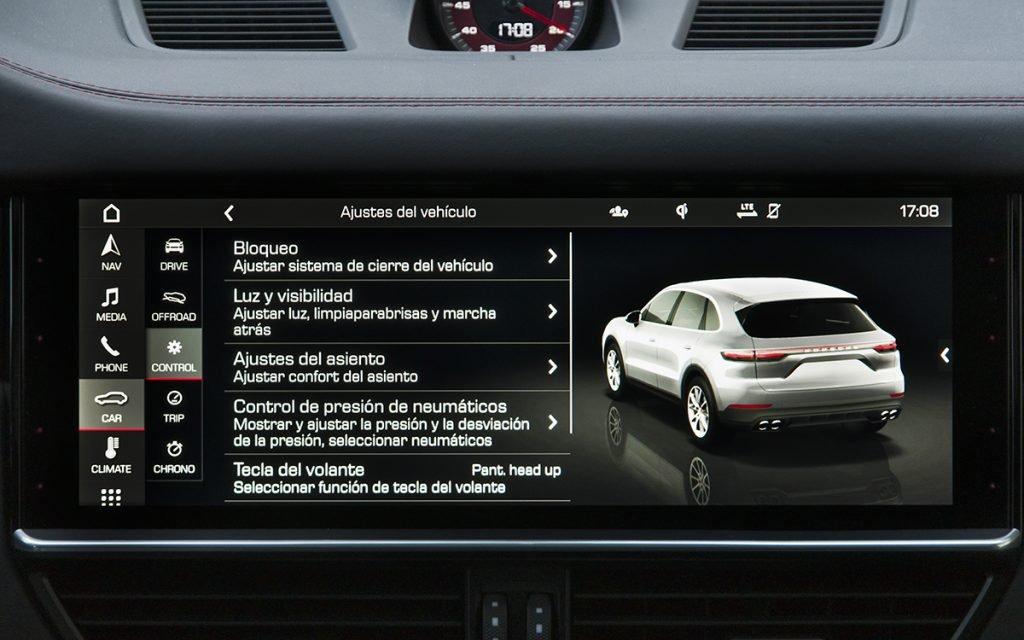 Opciones del Porsche Cayenne GTS