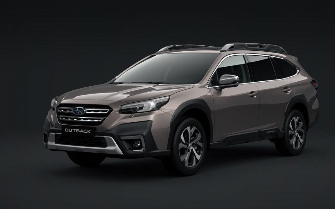 Imagen frontal del Subaru Outback