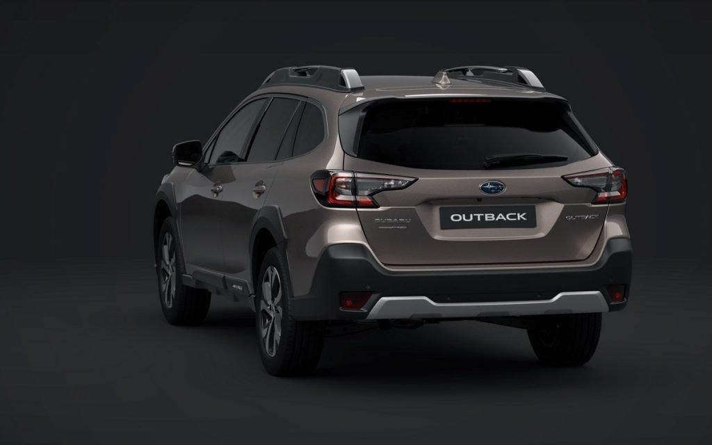 Imagen posterior del Subaru Outback