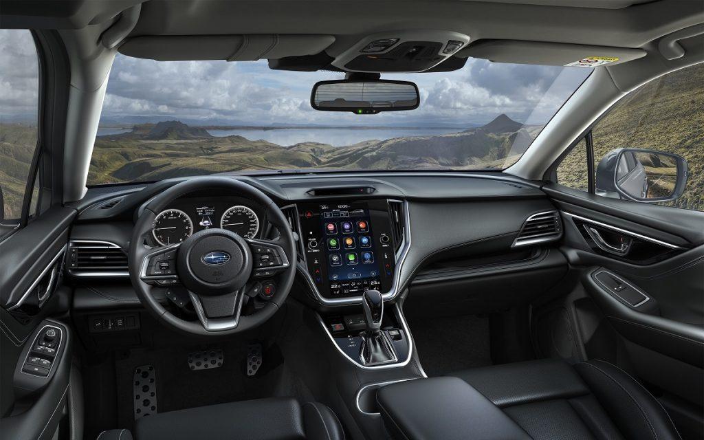 Interior del Subaru Outback
