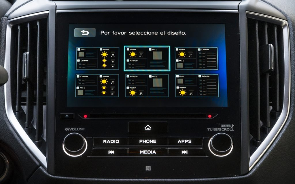 Configuración del escritorio de Subaru StarLink
