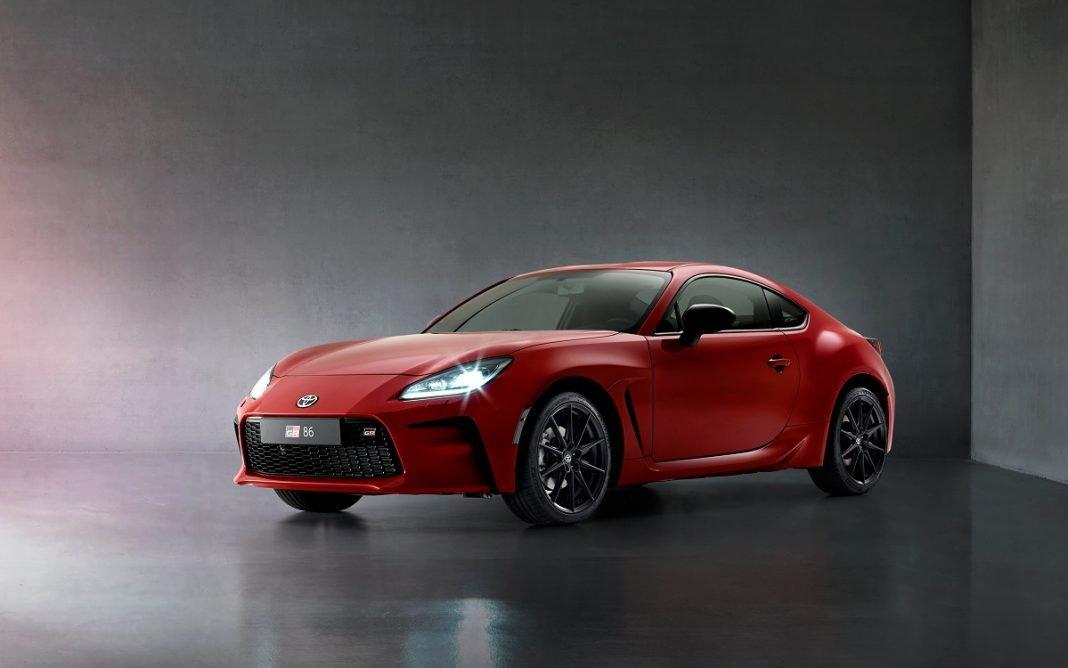 Imagen frontal del Toyota GR 86