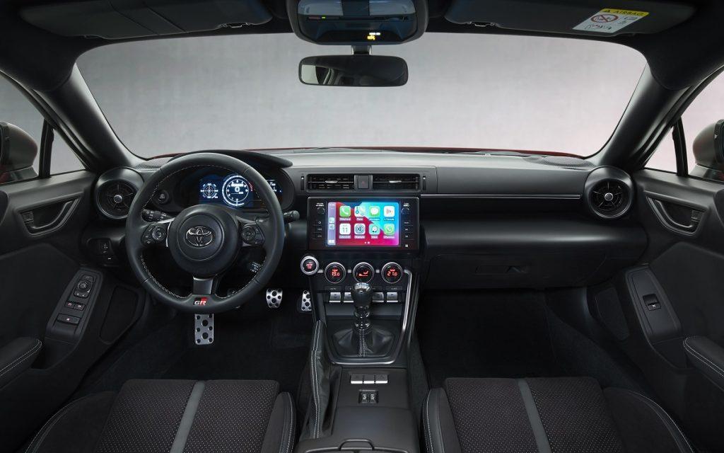 Interior del Toyota GR 86