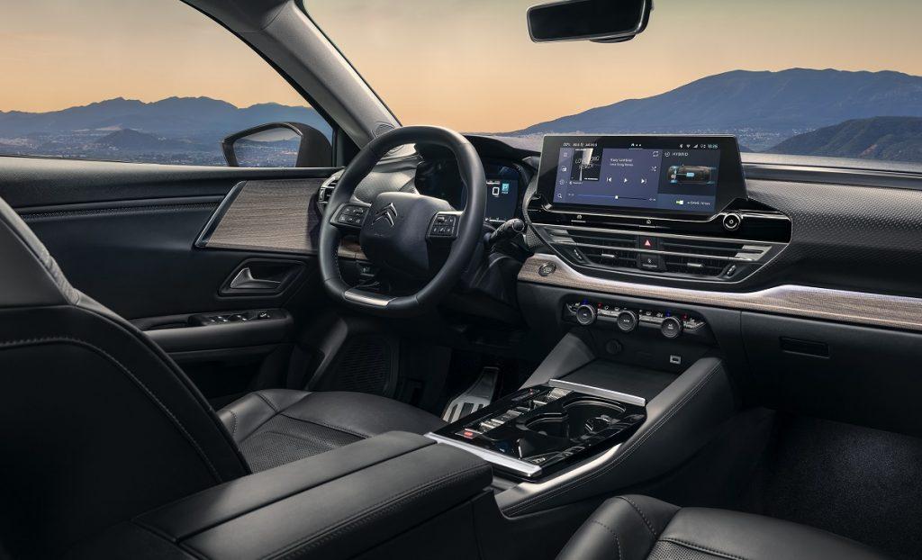 Imagen interior nuevo Citroën C5 X