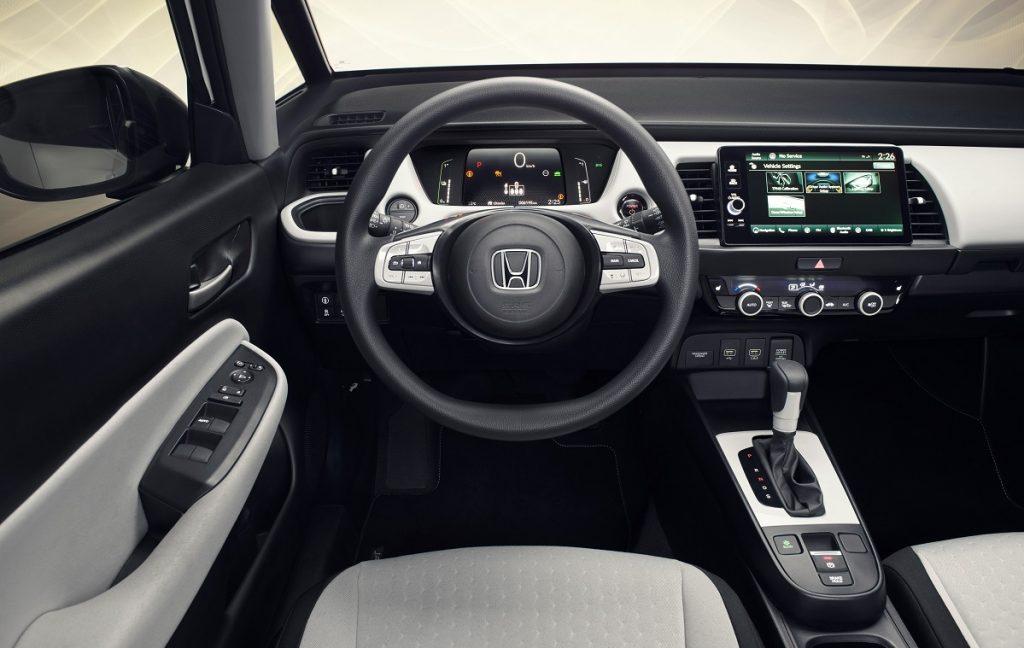 Imagen interior Honda Jazz