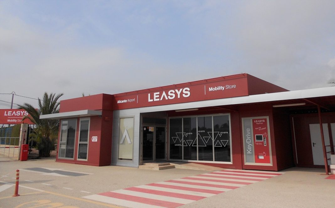 Imagen de la nueva tienda de Leasys