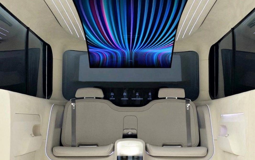 limusina ioniq concept cabin
