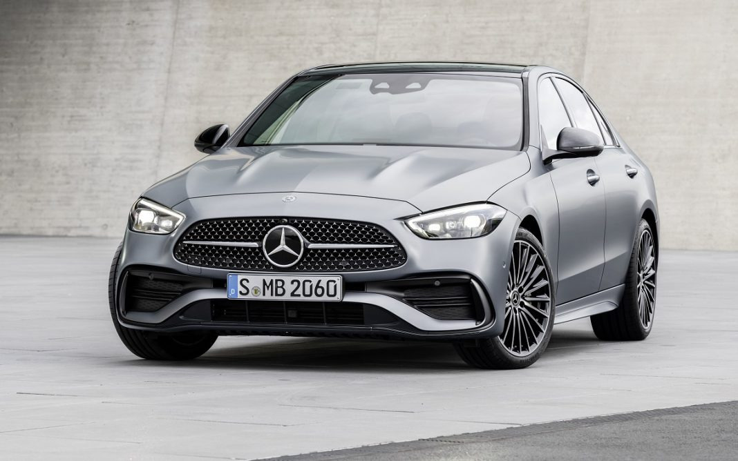 Imagen frontal del Mercedes-Benz Clase C