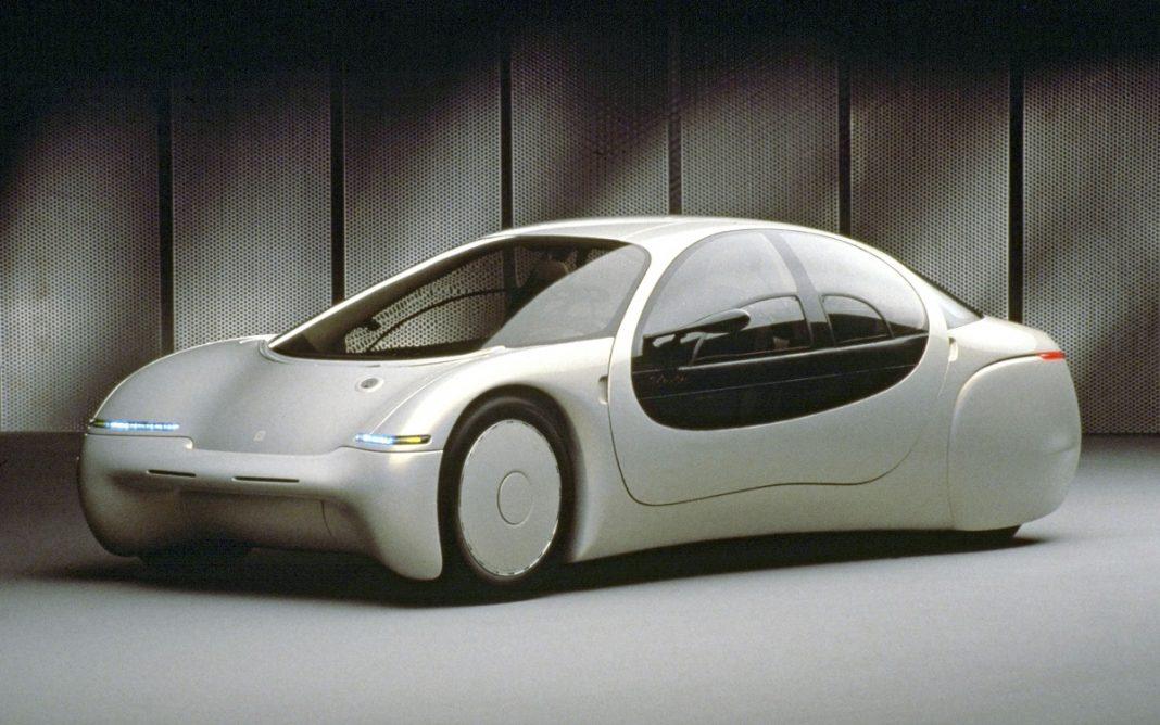 Imagen frontal del GM Ultralite Concept