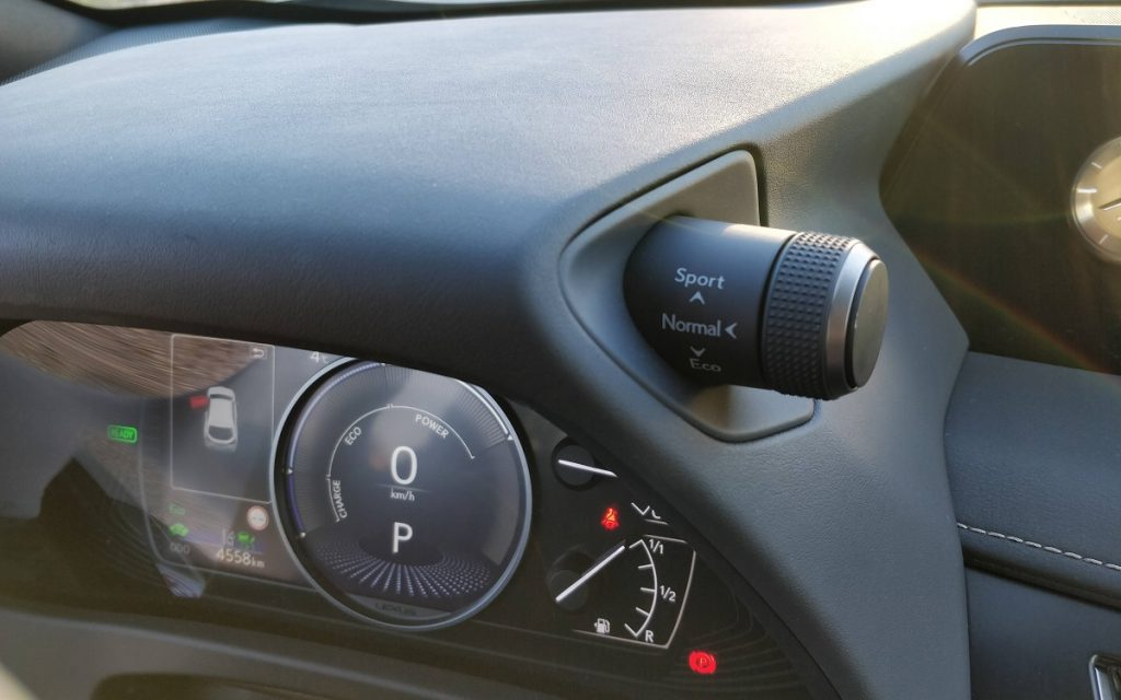 detalle interior Lexus UX 250h
