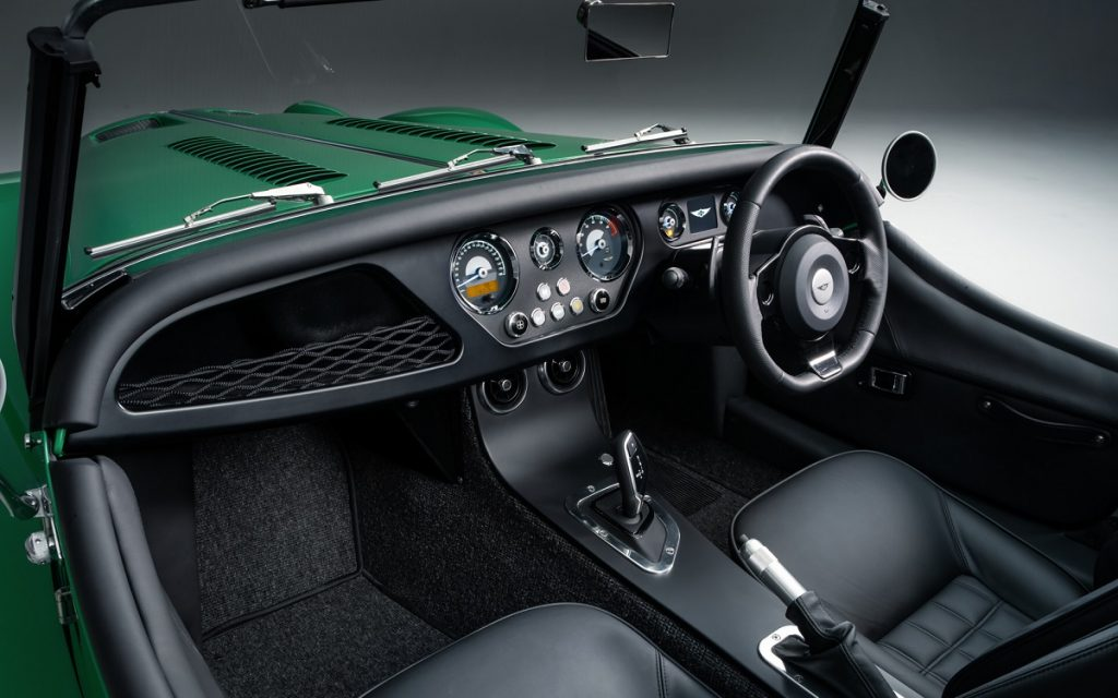 Interior del Morgan Plus Six