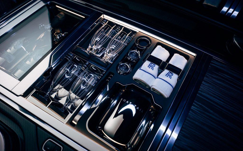 Detalle del Rolls-Royce Boat Tail