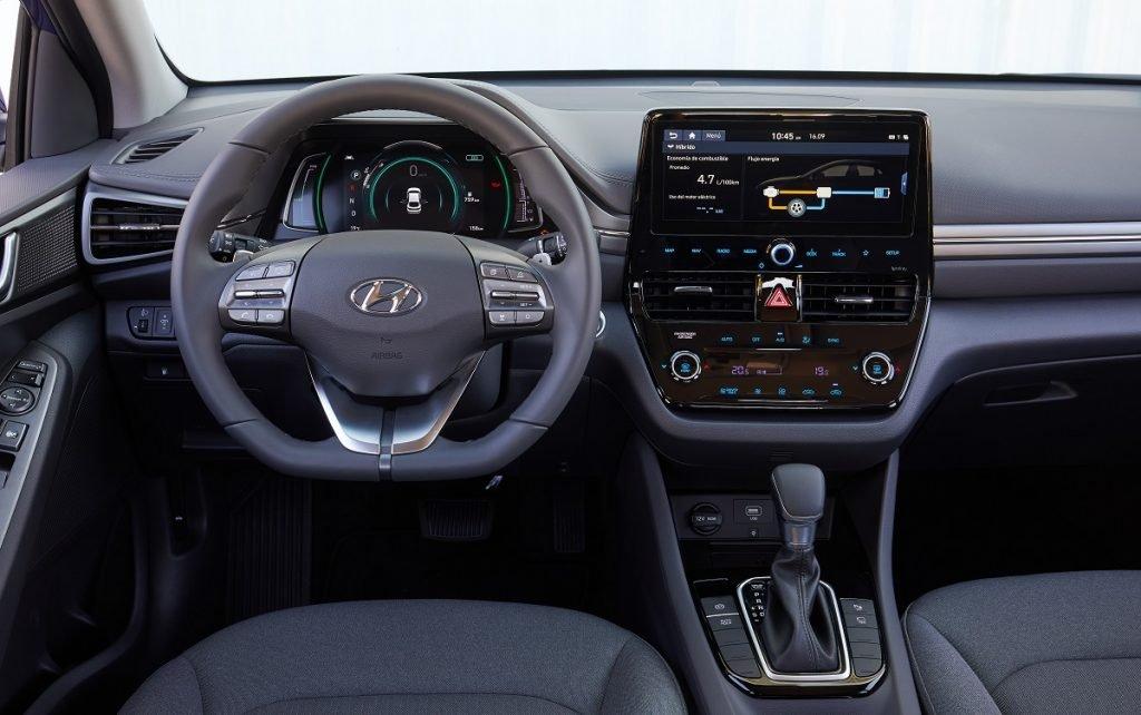 imagen interior Hyundai Ioniq