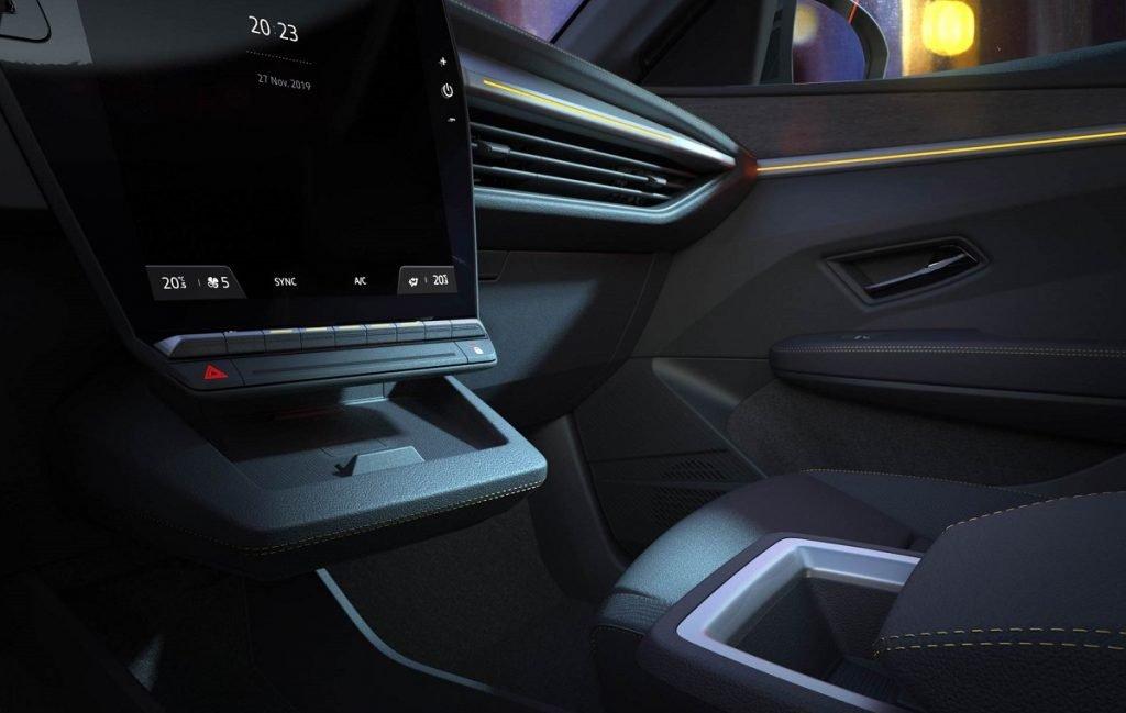 Imagen detalles interiores nuevo Renault Mégane 1