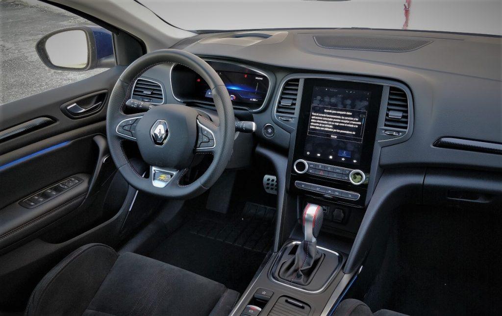 INterior del Renault Mégane 1.3 RSLINE