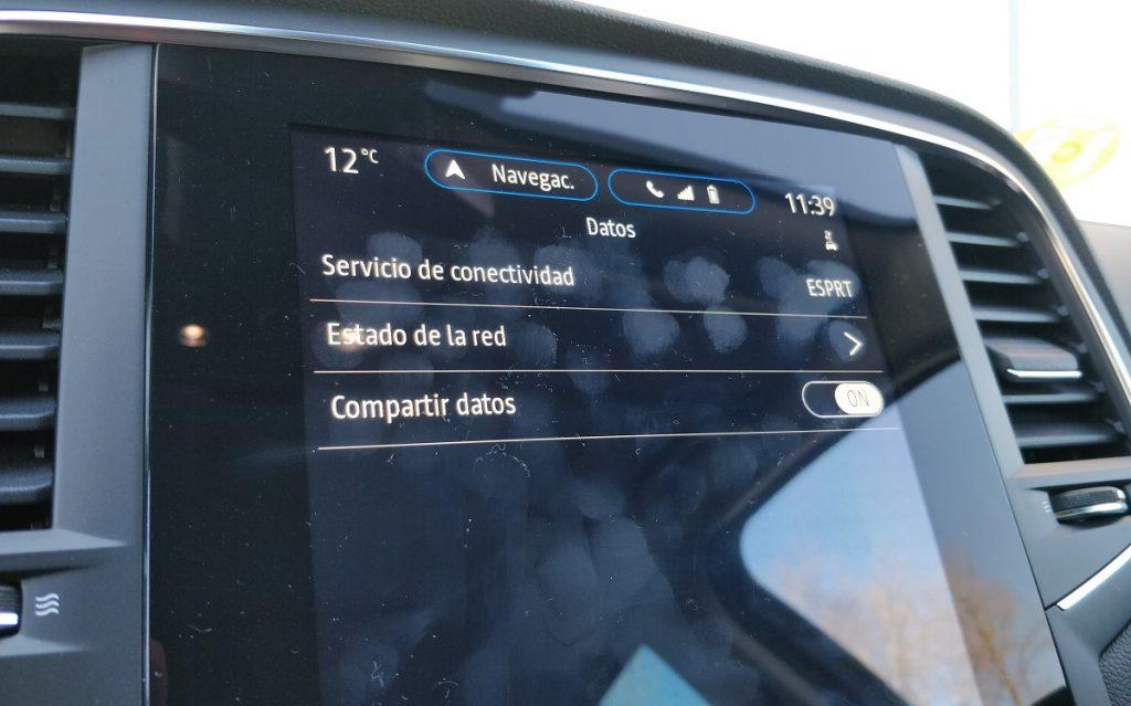 Detalle del Renault Mégane 1.3 RSLINE