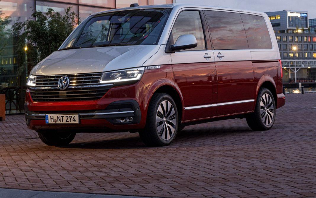 Imagen tres cuartos delantero VW multivan 1