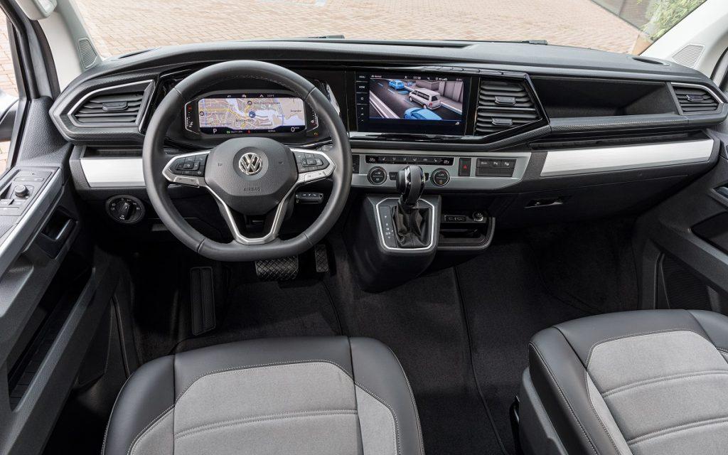 Imagen interior VW multivan 1