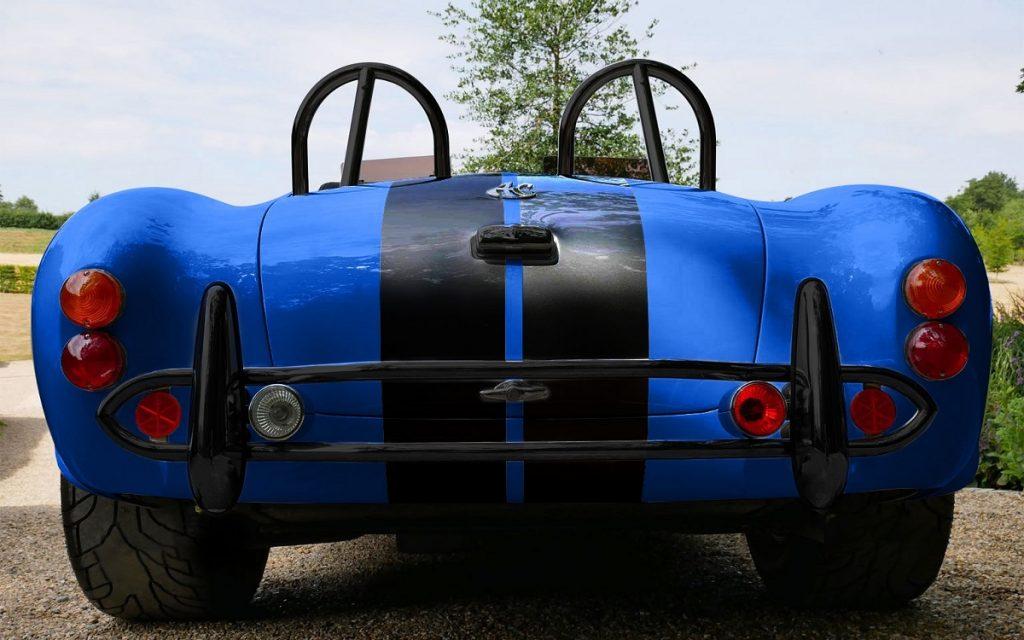 Imagen posterior del AC Cobra Series-electric