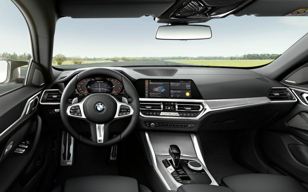 Interior del BMW Serie 4 Gran Coupé