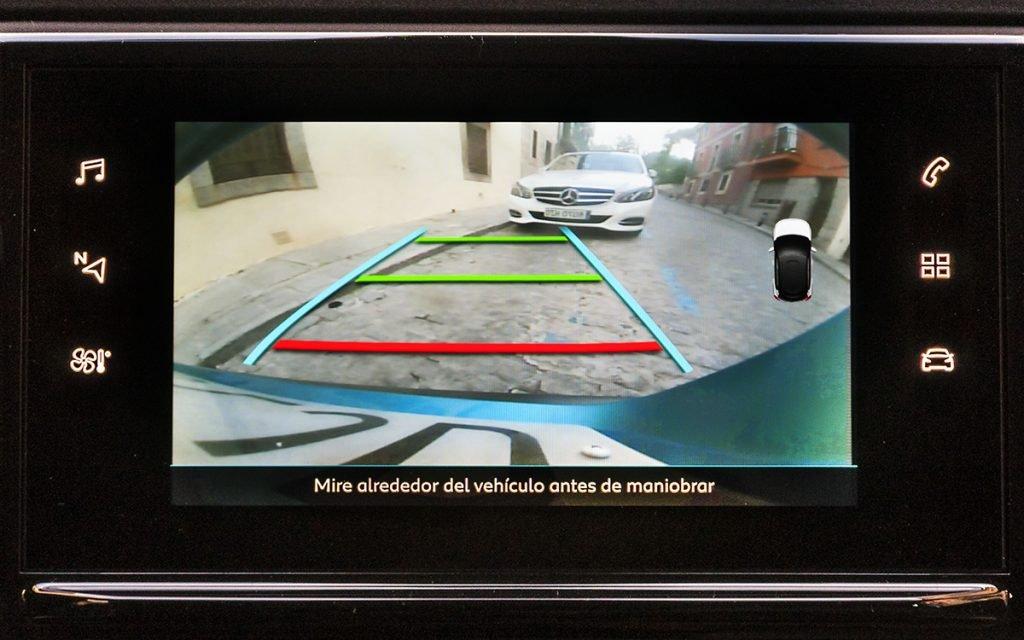 Cámara trasera del Citroën C3