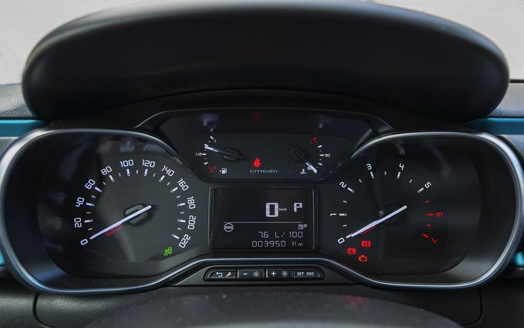 Panel de instrumentos del Citroën C3