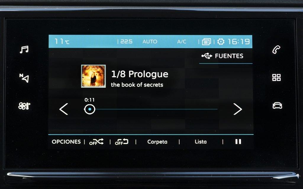 Reproducción de música en el Citroën C3