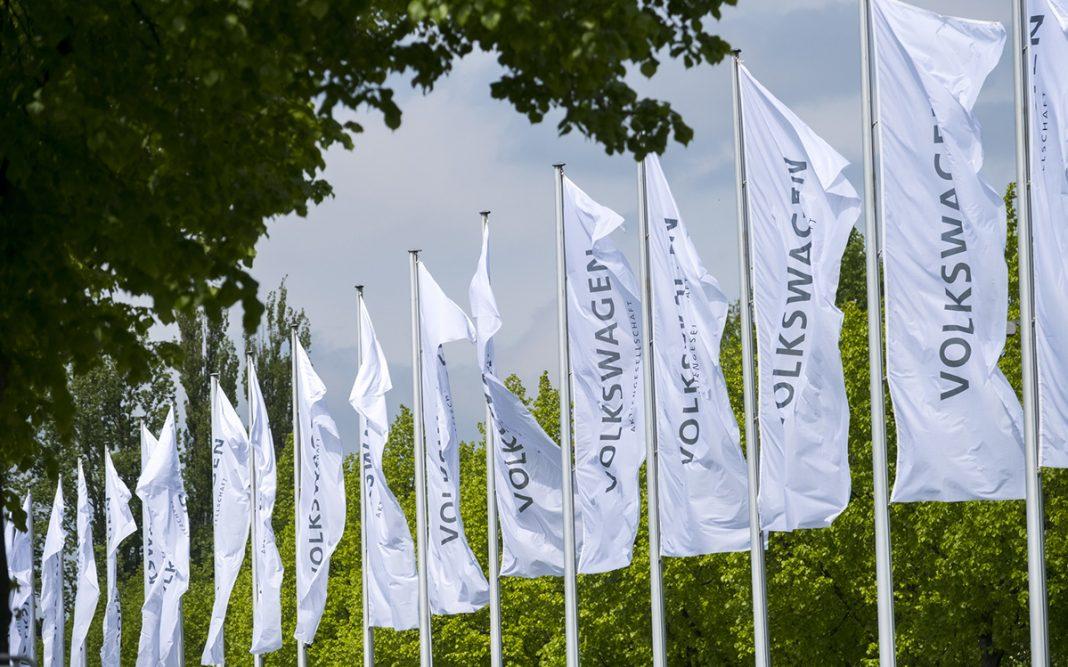 Grupo Volkswagen banderas