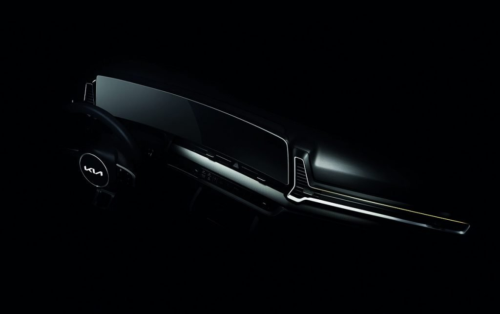 Imagen interior nuevo Kia Sportage