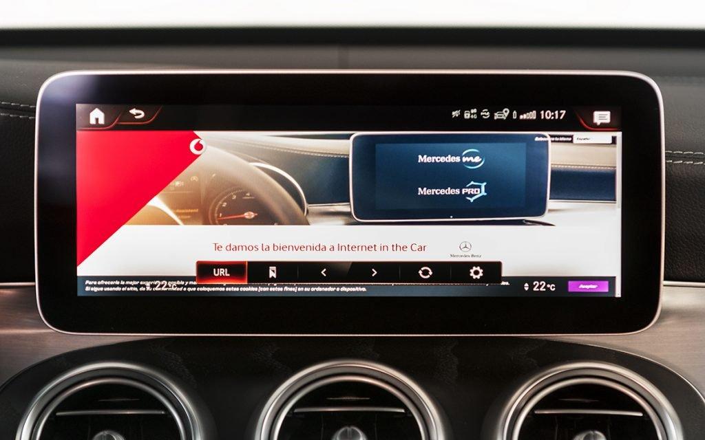 Internet in the Car con Mercedes Me