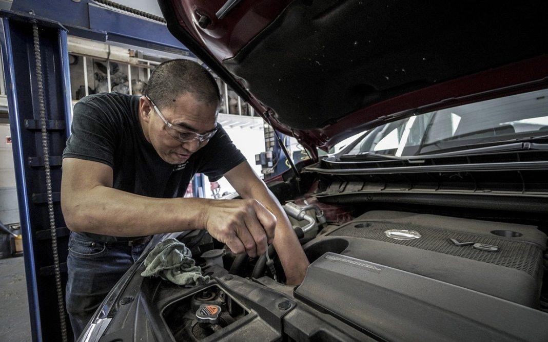 Reparación vehículo industrial