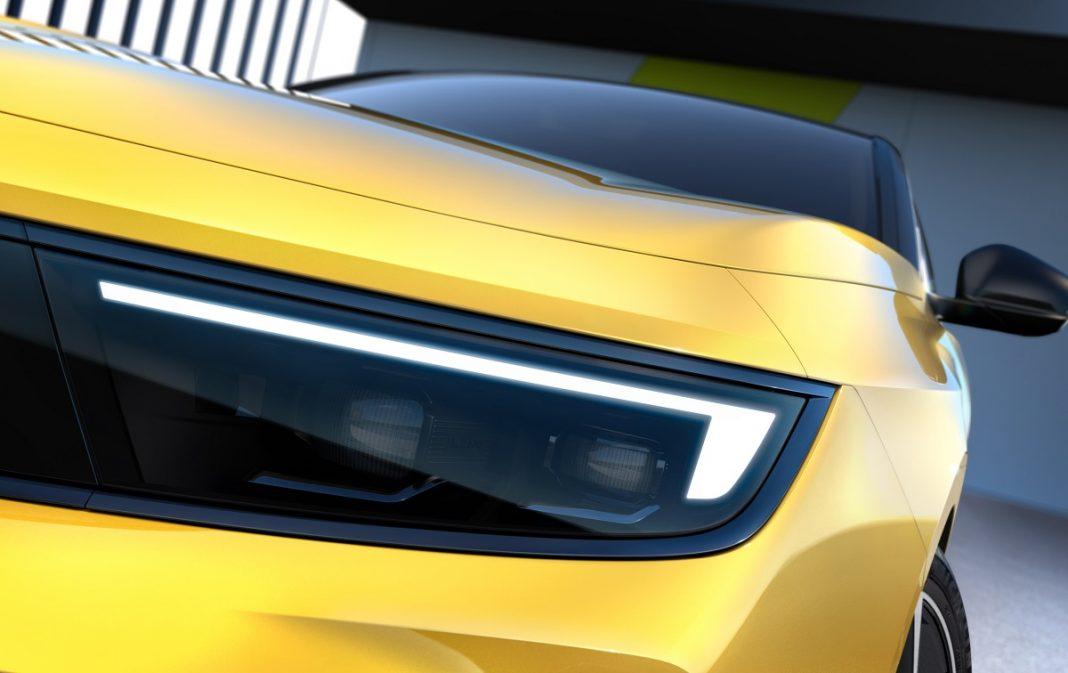 Detalle exterior nuevo Opel Astra